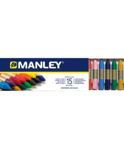 Lápices y ceras de colores
